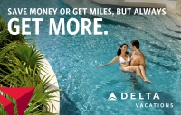 money or miles - delta vacations